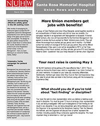 Santa Rosa Newsletter March 3 2014
