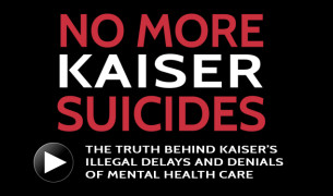No More Kaiser Suicides video