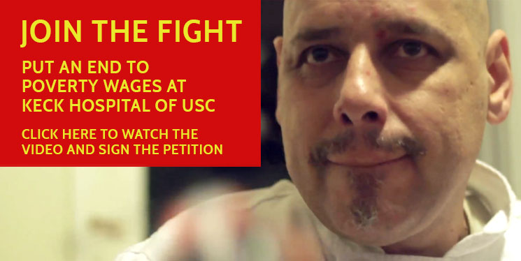 Poverty Wages at Keck USC