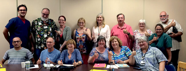 20150714 St. Joseph Sonoma County bargaining team WEB