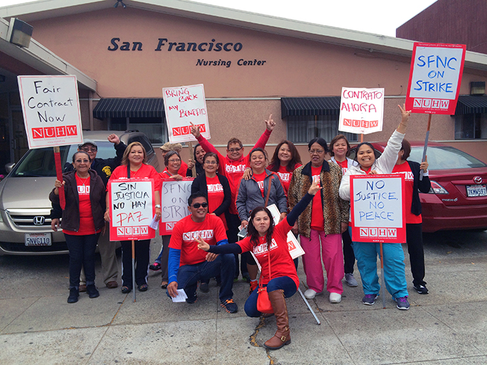 20150820 San Francisco Nursing Center strike 01