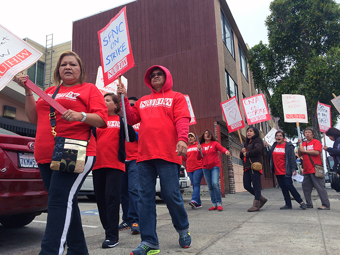 20150820 San Francisco Nursing Center strike 02