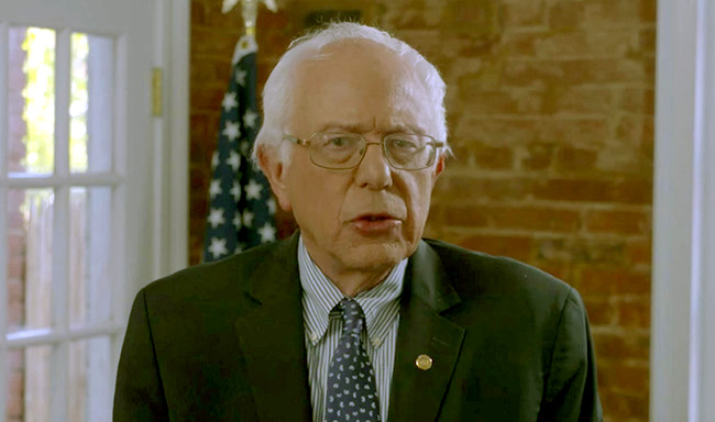 Bernie Sanders addresses NUHW