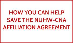 NUHW-CNA affiliation agreement