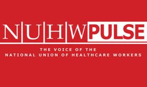 NUHW Pulse logo BLG