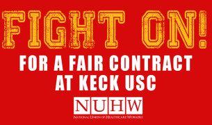 20151204 Fight On at Keck USC sticker