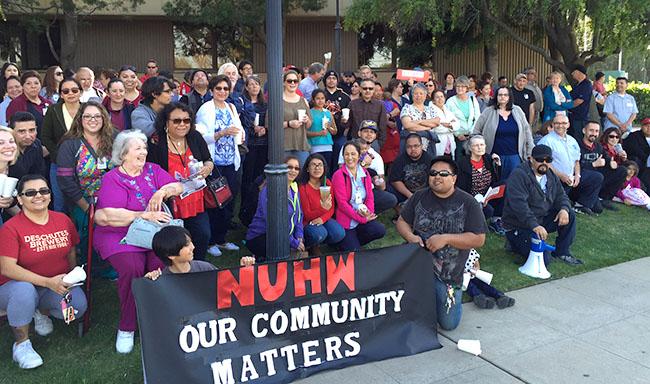 Salinas vigil
