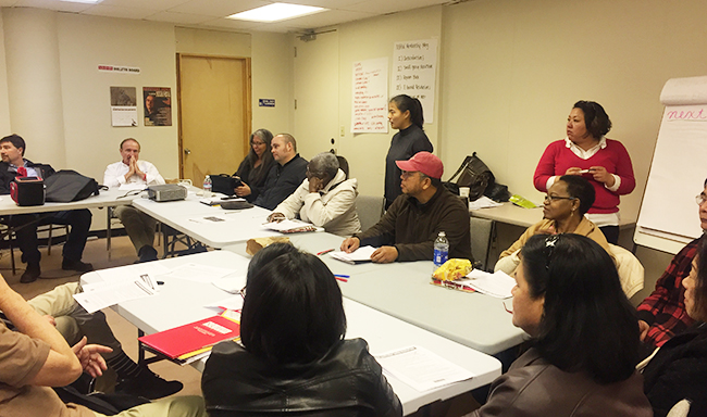 NUHW members gather for statewide meetings