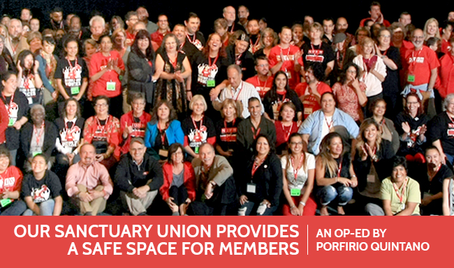 Our sanctuary union provides a safe space for members.