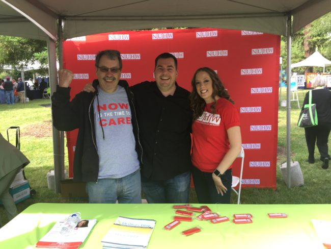 NUHW co-sponsored Mental Health Matters Day in Sacramento on May 24, 2017