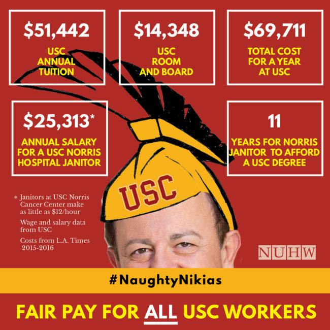 Naughty Nikias tuition costs