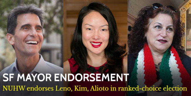 201802 SF Mayor Endorsement mobile