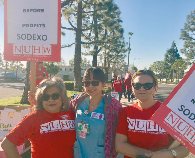 20180201 Fountain Valley Sodexo strike 03