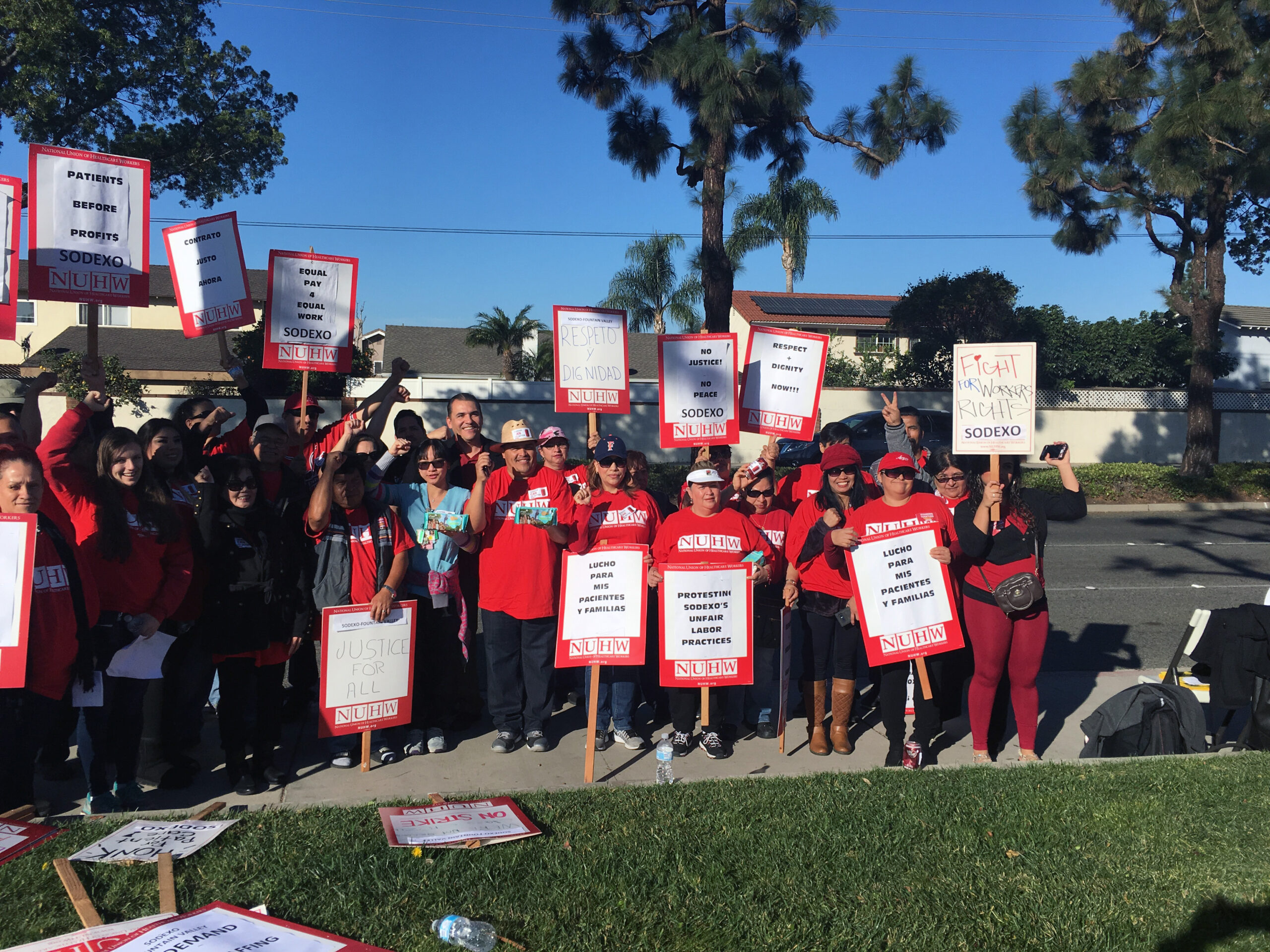20180201 Fountain Valley Sodexo strike 15