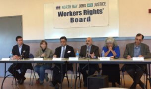 A Workers' Rights Board was held March 4 in Novato to look into allegations of understaffing at two Marin County nursing homes.